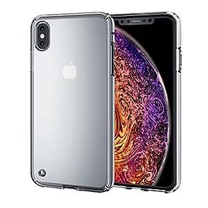エレコム iPhone Xs Max ケース 衝撃吸収 TRANTECT ハイブリッド 【iPhoneを美しく守る。】 クリア PM-A18DHVCCR