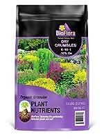 BioFlora R4505 Dry Crumbles Slow Release Plant Fertilizer 6-10-1+10% Ca 5-Pound Bag [並行輸入品]