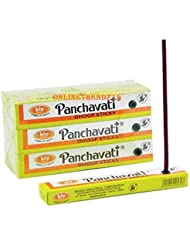 Panchavati Dhoop /お香スティック12 boxes-meditation and enlightenment-worship Temple