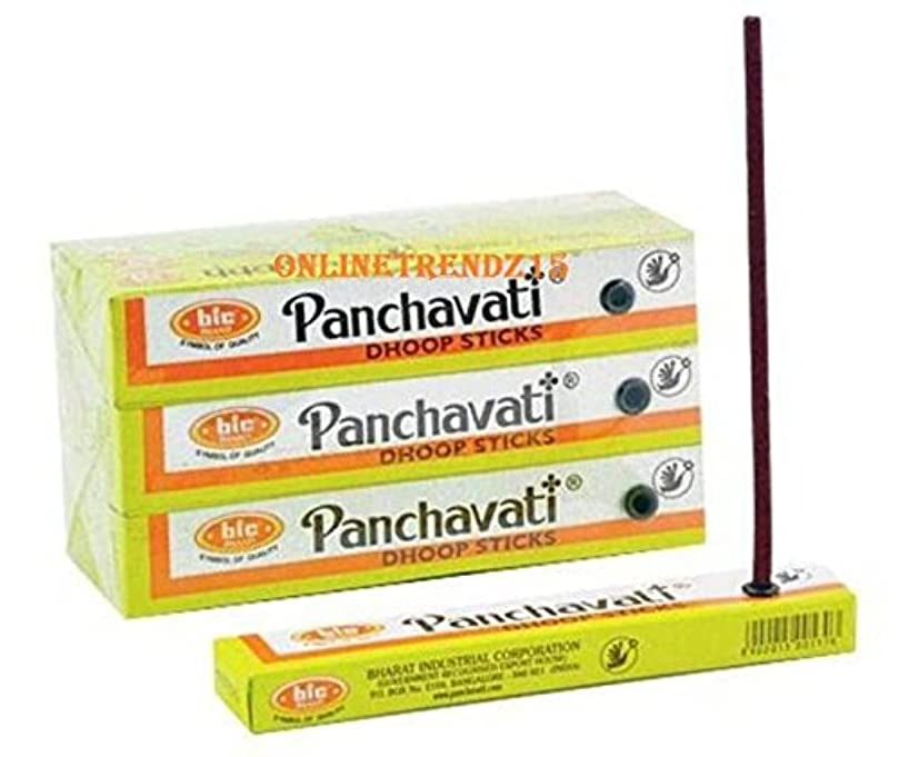 主権者取り出す災害2 x 12ボックスPanchavati Dhoop /お香スティック24ボックス – 瞑想とenlightenment-worship Temple