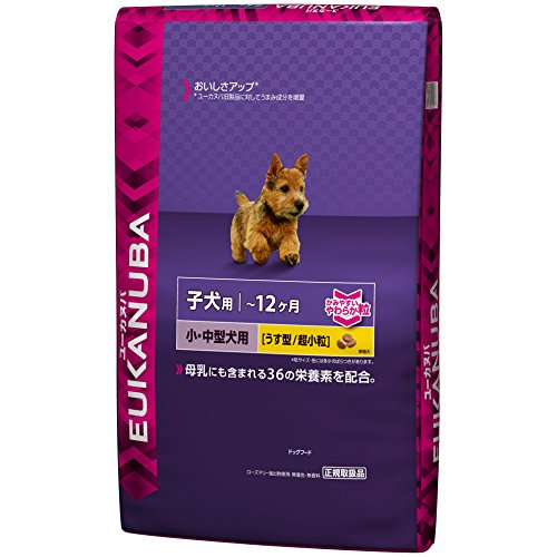 ユーカヌバ 離乳期-12ヶ月齢用 小・中型犬種 超小粒 7.5kg