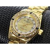 アイザック バレンチノ IZAX VALENTINO 天然宝石 腕時計 IVL-20000-1 [並行輸入品]