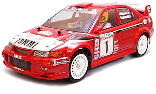 1/10 電動ラジオコントロールカー シリーズ ランサーEvo.VI WRC