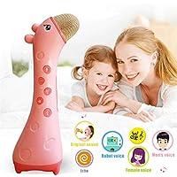 Kids Bluetoothワイヤレスマイク子供ホームKTVカラオケおもちゃ音楽プレーヤーの子幼児用ベビーギフト ALVON555952502351