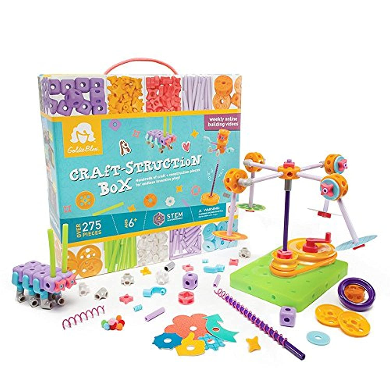 GoldieBlox Craft-struction Box [並行輸入品]