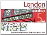 London Bus & Underground PopOut Map (Footprint PopOut Maps)