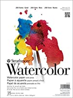 """Strathmore 25-111 Student Watercolor Pad, 11"""" x 15"""" Size, 0.25"""" Height, 15"""" Width, 11"""" Length [並行輸入品]"""
