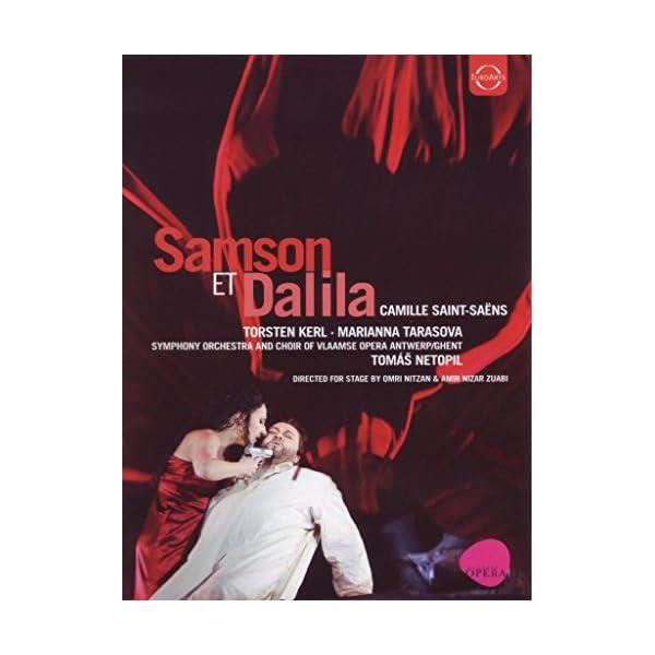 Camille Saint-Saens: Sam...の商品画像