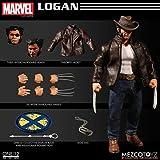 MezcoおもちゃOne : 12Collective : Marvel Loganアクションフィギュア