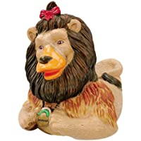 CelebriDucks Wizard of Oz Cowardly Lion RUBBER DUCK Bath Toy [並行輸入品]