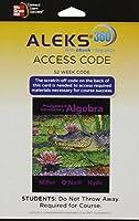 Aleks 360 Access Card (52 Weeks) for Prealgebra & Introductory Algebra