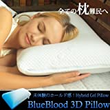 ブルーブラッド(BlueBlood) 枕 フュージョニングジェルピロー ( ソフトタイプ(12cm)) 有吉ゼミ R-BBP1004