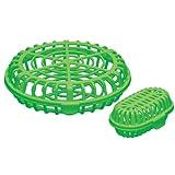 食洗機用 小物バスケット 大小セット グリーン 食洗機内の仕分けに便利 BKK1