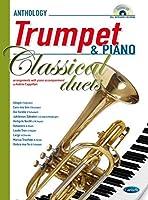 Andrea Cappellari: Classical Duets - Trumpet/Piano (Book/CD) / アンドレア・カッペラーリ: クラシカル・デュエット - トランペット/ピアノ (本・CD)