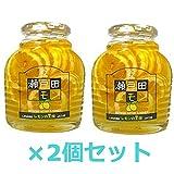 広島県尾道市 瀬戸田レモンのはちみつ漬け470g×2瓶【送料込】