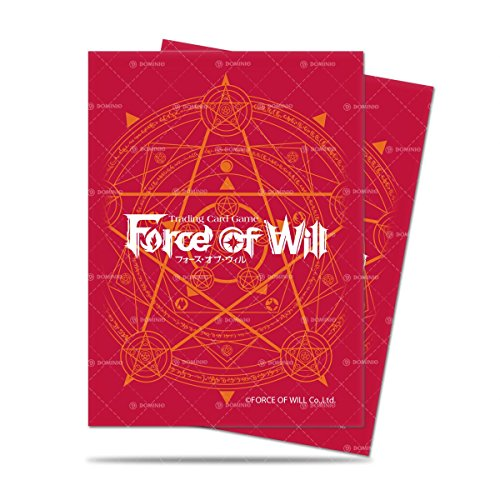 Force of will スリーブ 魔法陣 赤 65枚入り