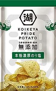 湖池屋 KOIKEYA PRIDE POTATO 本格濃厚のり塩 63g×12袋