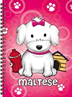 Love Your Breed Notebook, Maltese Girl by FouFou Dog