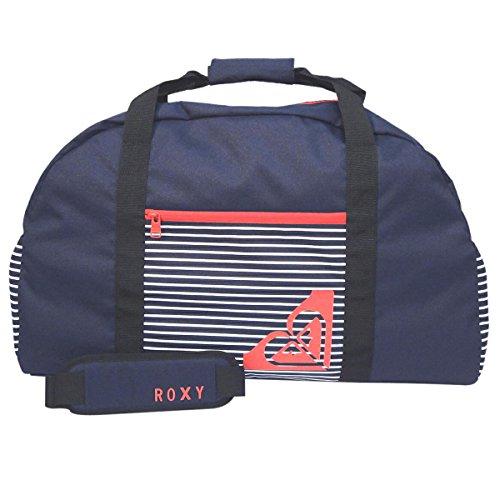 ROXY(ロキシー) ボーダー柄 ボストンバッグ RBG151626W (レッド)