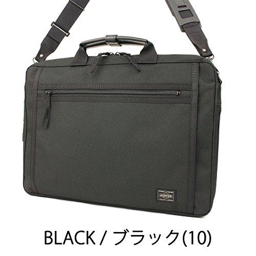 吉田カバン ポーター PORTER 2wayビジネスバッグ ブリーフケース 【CLIP/クリップ】550-08961 ブラック