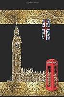 London: England London Notebook size 6x9