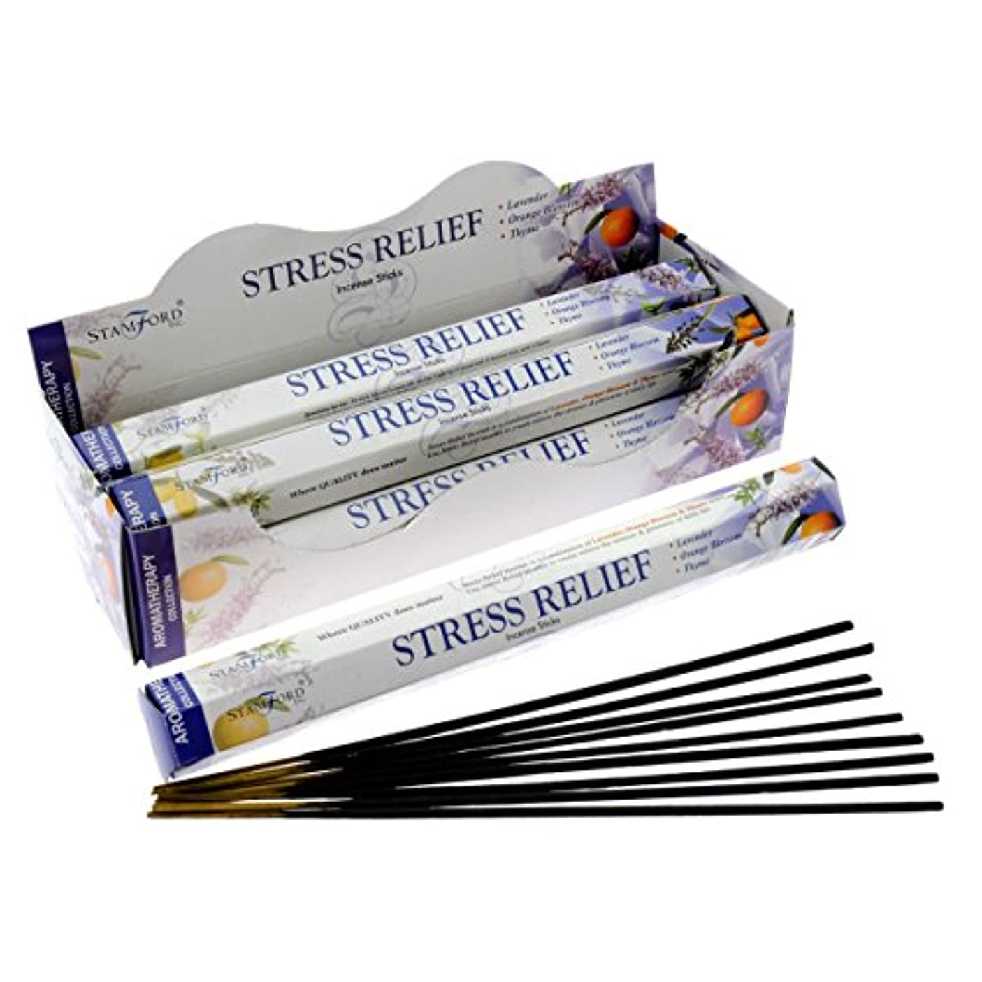 こしょうスムーズに追い付くStamford Incense Sticks ( Stress Relief – 20 Sticks )