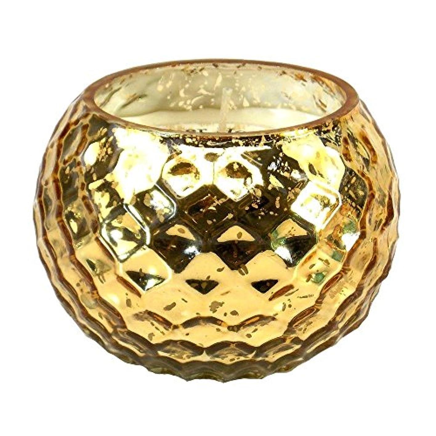 神社昼間訴えるScented Candleバニラ、誕生日Golden Honeycomb香り大豆Scented Candleワックス