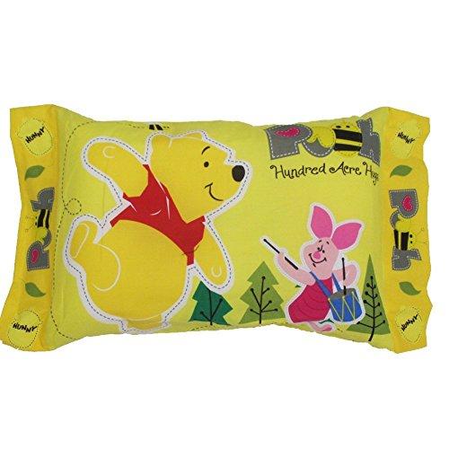 ディズニー プーさん 子供用 枕 綿100%、中材ポリエステル100% 28×39cm モリシタ