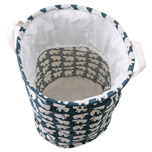 KLUMA バスケット ランドリー バスケット 洗濯かご 撥...