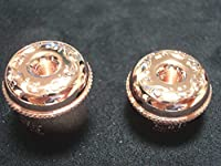 ブルズアイ(Bullseye) フルートバランスキャップ Lサイズ ピンクゴールドプレート Mタイプ(SANKYO対応) FLBCPGPL-S