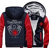 ゲーム・オブ・スローンズTargaryen Fire&Blood Dragonパーカー スウェット あったかい 衣装 コスチューム 非売品