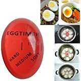 JUYIN Egg Perfect Perfect Egg Timer,Color Changing Timer Yummy Soft Hard Boiled Eggs Cooking Kitchen Tool Timer,Color Changing Indicator Tells When Eggs Are Ready