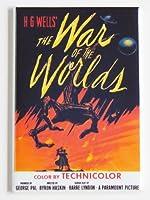 War of the Worlds映画ポスター冷蔵庫マグネット( 2x 3インチ)