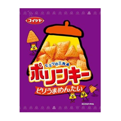 コイケヤ ポリンキー ピリうまめんたい 60g 【3袋セット】