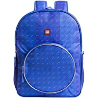 LEGO Classic Brick Backpack - Lego Backpack with Zippered Front Pocket
