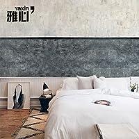 HANHUAN アールデコ様式のフレスコ画の壁紙の壁画防水カスタマイズ可能なサイズのオリエンタルモダンな使いやすいシルクのシームレスな壁のダマスク織の Non-Toxic 環境保護バスルーム/レストラン/バー/ホール/リビングルーム/玄関/キッチン/オフィス/ベッドルーム、 450 x 315 cm