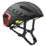SCOTT(スコット) ヘルメット 自転車用ヘルメット Cadence PLUS 2500264244007 ダークグレー、レッド M