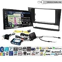 Volunteer Audio Kenwood DNX575S ダブルディンラジオインストールキット Apple CarPlay、Androidオート、ナビゲーション適合 2006-2013 BMW 3 シリーズ