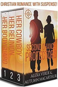 Second Chance Protectors: Love, faith, and danger - Christian romance with suspense by [Verde, Alexa, Macarthur, Autumn]