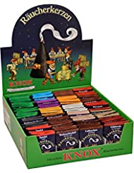 Knox Incense Assorted Packs Set Of 100 Pieces 14.75