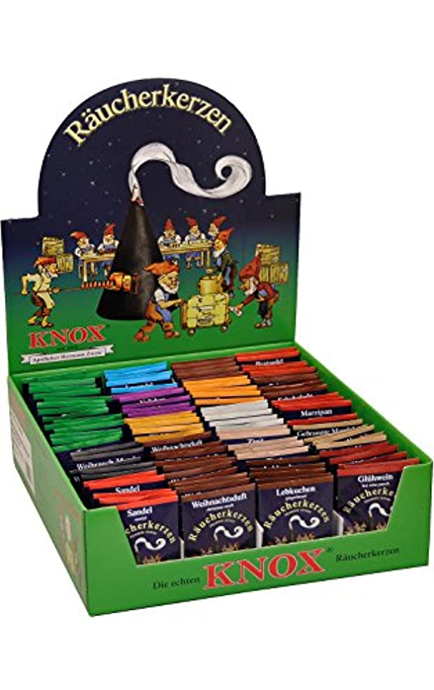 うま書く柔らかさKnox Incense Assorted Packs Set Of 100 Pieces 14.75