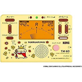 KORG コルグ - コンボ チューナー メトロノーム TM-60 ポムポムプリン TM-60-SPN