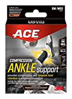 Ace Compression Ankle Support, Small/Medium by ACE