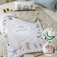 プリエル綿100%の赤ちゃんお昼寝布団FULL SET(枕綿を含む)