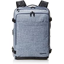 AmazonBasics Slim Carry On Travel Backpack, Denim - Weekender