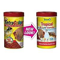 Tetra 16262 TetraColor Tropical Granules, 10.58-Ounce, 1-Liter by Tetra