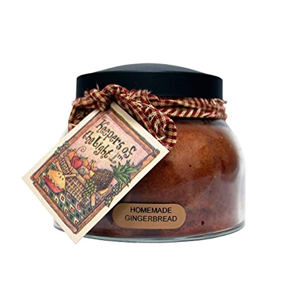 プラットフォーム解き明かす九月A Cheerful Giver Homemade Gingerbread Mama Jar Candle, 22-Ounce by Cheerful Giver [並行輸入品]