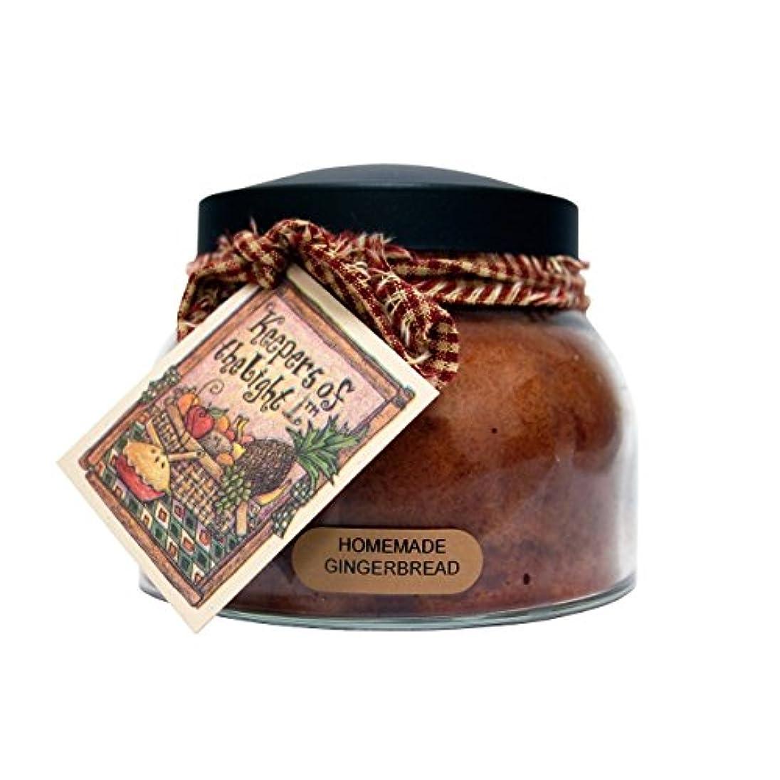 以前は寄託カールA Cheerful Giver Homemade Gingerbread Mama Jar Candle, 22-Ounce by Cheerful Giver [並行輸入品]
