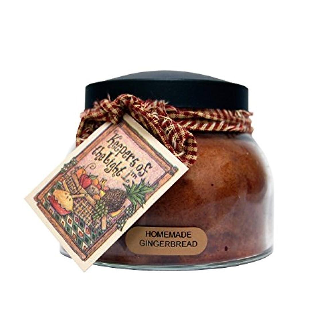 到着だらしない価値A Cheerful Giver Homemade Gingerbread Mama Jar Candle, 22-Ounce by Cheerful Giver [並行輸入品]