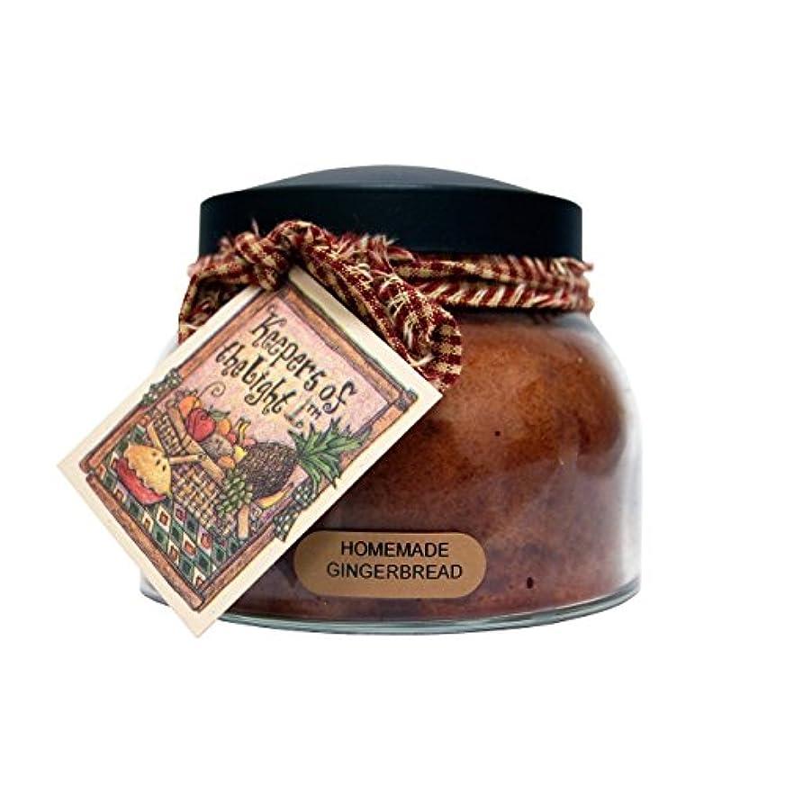 ファブリック気づくなる尊敬するA Cheerful Giver Homemade Gingerbread Mama Jar Candle, 22-Ounce by Cheerful Giver [並行輸入品]